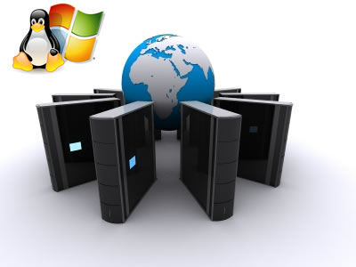 Hosting Server Linux Windows Configurazione Banda Garantita