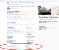 registrazione google maps azienda Bergamo