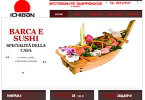 sito web ristorante ichiban