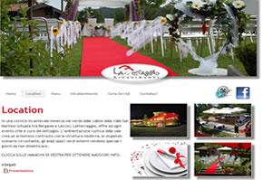 sito web ristorante latterraggio ricevimenti