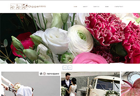 sito web oggetthi fiorista bergamo