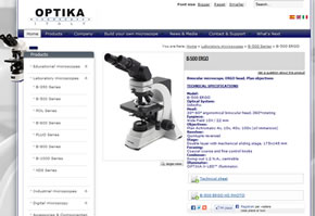 sito web optikamicroscopes