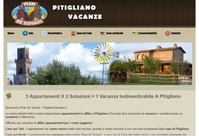 sito web pitiglianovacanze.it