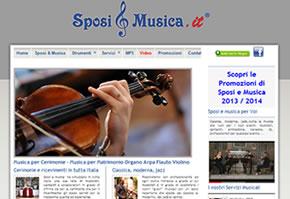 sito web sposiemusica