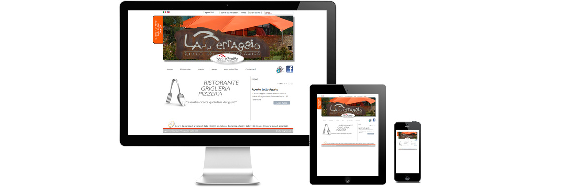 web design realizzazione sito responsive Bergamo Agenzia consulenze